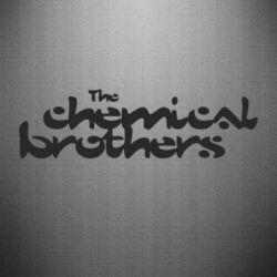 Наклейка The Chemical Brothers logo