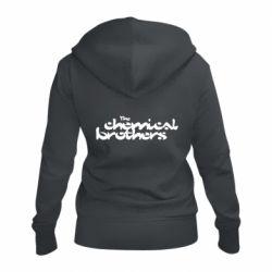 Жіноча толстовка на блискавці The Chemical Brothers logo