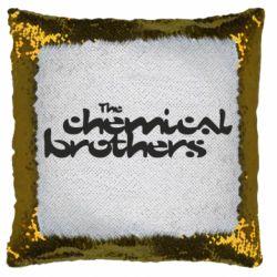 Подушка-хамелеон The Chemical Brothers logo