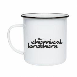 Кружка емальована The Chemical Brothers logo