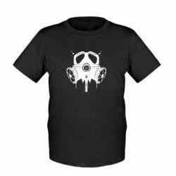 Детская футболка The Chemodan Clan противогаз