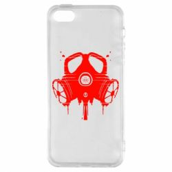 Чехол для iPhone5/5S/SE The Chemodan Clan противогаз