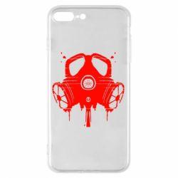 Чехол для iPhone 7 Plus The Chemodan Clan противогаз