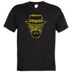 Чоловіча футболка з V-подібним вирізом The Chronicle Walter White