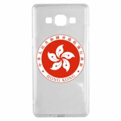 Чехол для Samsung A5 2015 The coat of arms of Hong Kong