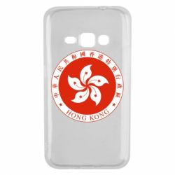Чехол для Samsung J1 2016 The coat of arms of Hong Kong