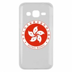Чехол для Samsung J2 2015 The coat of arms of Hong Kong