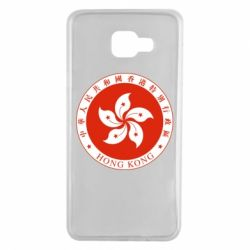 Чехол для Samsung A7 2016 The coat of arms of Hong Kong
