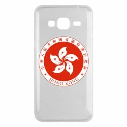 Чехол для Samsung J3 2016 The coat of arms of Hong Kong