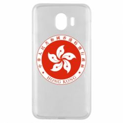 Чехол для Samsung J4 The coat of arms of Hong Kong