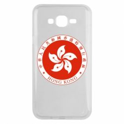 Чехол для Samsung J7 2015 The coat of arms of Hong Kong