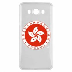 Чехол для Samsung J7 2016 The coat of arms of Hong Kong