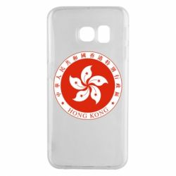 Чехол для Samsung S6 EDGE The coat of arms of Hong Kong