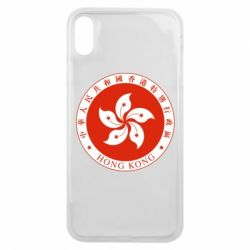 Чехол для iPhone Xs Max The coat of arms of Hong Kong
