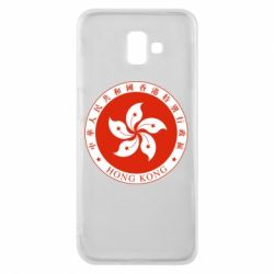 Чехол для Samsung J6 Plus 2018 The coat of arms of Hong Kong