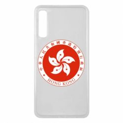Чехол для Samsung A7 2018 The coat of arms of Hong Kong