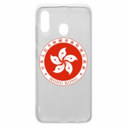 Чехол для Samsung A20 The coat of arms of Hong Kong