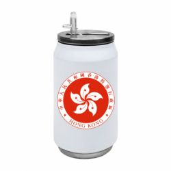 Термобанка 350ml The coat of arms of Hong Kong