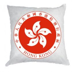 Подушка The coat of arms of Hong Kong