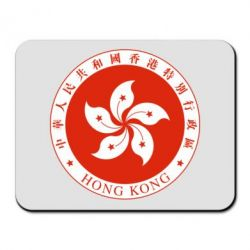 Коврик для мыши The coat of arms of Hong Kong