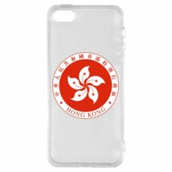 Чехол для iPhone5/5S/SE The coat of arms of Hong Kong