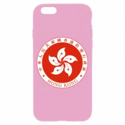 Чехол для iPhone 6/6S The coat of arms of Hong Kong