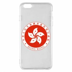 Чехол для iPhone 6 Plus/6S Plus The coat of arms of Hong Kong