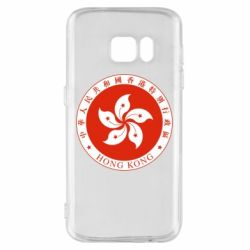 Чехол для Samsung S7 The coat of arms of Hong Kong