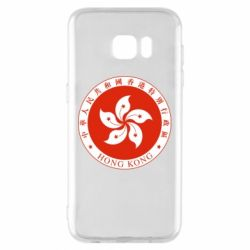 Чехол для Samsung S7 EDGE The coat of arms of Hong Kong