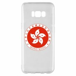 Чехол для Samsung S8+ The coat of arms of Hong Kong