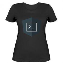 Жіноча футболка The code