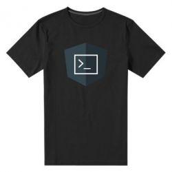 Чоловіча стрейчева футболка The code