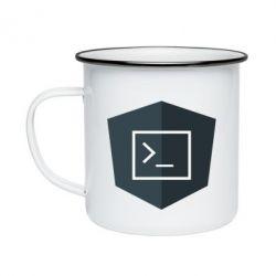 Кружка емальована The code