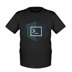 Дитяча футболка The code