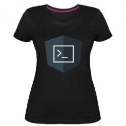 Жіноча стрейчева футболка The code