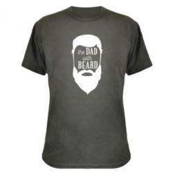 Камуфляжная футболка The Dad with beard