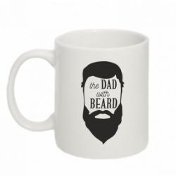 Кружка 320ml The Dad with beard
