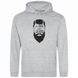Мужская толстовка The Dad with beard