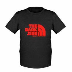 Детская футболка The dark side