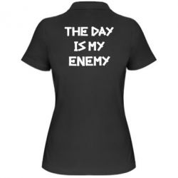 Женская футболка поло The day is my enemy