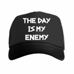 Кепка-тракер The day is my enemy