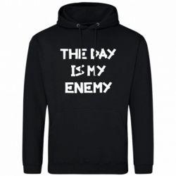 Чоловіча толстовка The day is my enemy