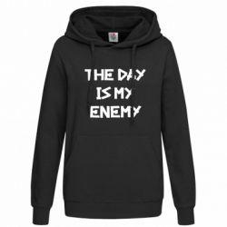 Толстовка жіноча The day is my enemy