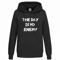 Женская толстовка The day is my enemy