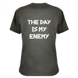 Камуфляжная футболка The day is my enemy