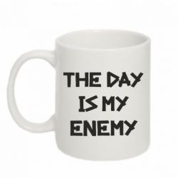 Кружка 320ml The day is my enemy
