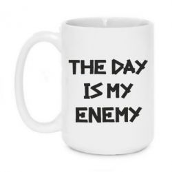 Кружка 420ml The day is my enemy