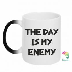 Кружка-хамелеон The day is my enemy