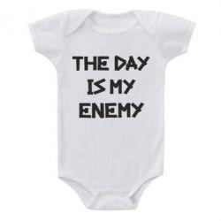 Дитячий бодік The day is my enemy