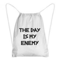 Рюкзак-мешок The day is my enemy